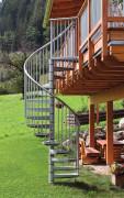Уличные лестницы Минка