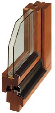 Деревянные окна Bertrand